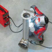 دستگاه جوش اینورتر تیگ- جوش لوله آلومینیوم Fronius-Tigwelding-pipeline